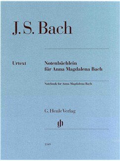 J.S. Bach: Notebook for Anna Magdalena Bach Books | Piano