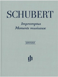 Franz Schubert: Impromptus And Moments Musicaux (Henle Urtext Edition) - Clothbound/Hardback Books | Piano