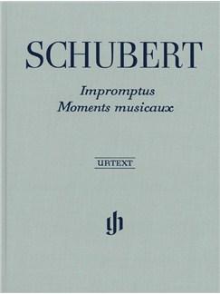 Franz Schubert: Impromptus And Moments Musicaux (Henle Urtext Edition) - Clothbound/Hardback Books | Piano