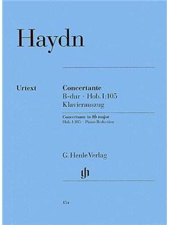 Joseph Haydn: Concertante In B Flat Hob.I:105 (Henle Urtext Edition) - Piano Reduction Books | Oboe, Bassoon, Violin, Cello, Piano Accompaniment
