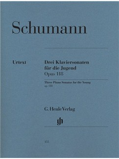 Robert Schumann: Three Piano Sonatas For The Young Op.118 - Urtext Books | Piano