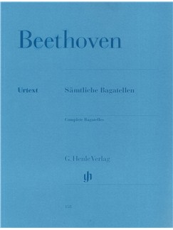 Ludwig van Beethoven: Complete Bagatelles (Henle Edition) Books | Piano
