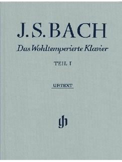 J.S. Bach: Das Wohltemperierte Klavier - Teil I Books | Piano