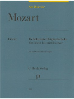 W.A. Mozart: Am Klavier - 15 Bekannte Originalstücke (German Language Edition) Books | Piano