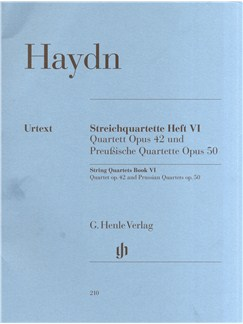 Joseph Haydn: String Quartets Book VI Books | String Quartet