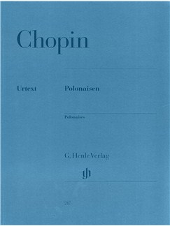 Frederic Chopin: Polonaises (Henle Urtext) Books | Piano