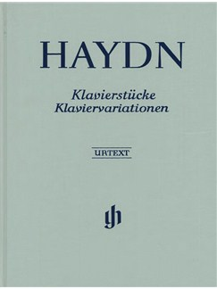 Franz Joseph Haydn: Klavierstucke Klaviervariationen Books | Piano