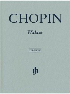 Frederic Chopin: Waltzes (Henle Urtext) Books | Piano
