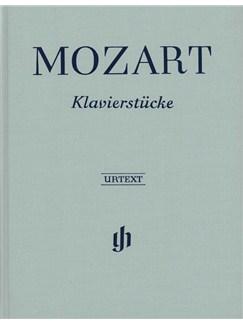 W.A. Mozart: Klavierstucke (Clothbound Urtext) Books | Piano