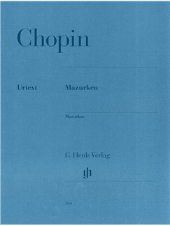 Frederic Chopin: Mazurkas (Henle Edition) Books | Piano