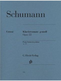 Robert Schumann: Piano Sonata In G Minor Op.22 (Henle Urtext) Books | Piano