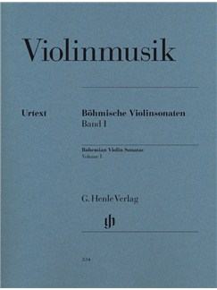 Bohemian Violin Sonatas Volume I Books | Violin, Piano Accompaniment