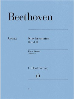 Beethoven: Piano Sonatas - Volume 2 (Henle Urtext Edition) Books | Piano