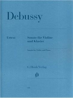 Claude Debussy: Sonata For Violin And Piano In G Minor Books | Violin, Piano Accompaniment