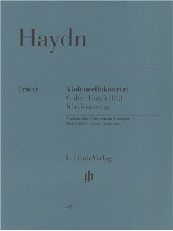 Joseph Haydn: Cello Concerto In C Hob.VIIb:1 (Cello/Piano) Books | Cello, Piano Accompaniment
