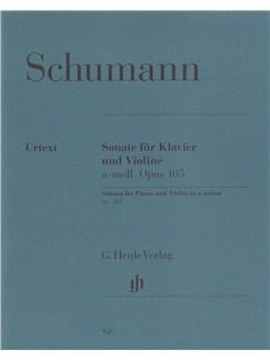 Robert Schumann: Sonata For Violin And Piano In A Minor Op. 105 (Henle Edition) Books | Violin, Piano Accompaniment