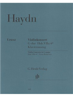 Franz Joseph Haydn: Violin Concerto In G (With Piano Reduction) Books | Violin, Piano Accompaniment
