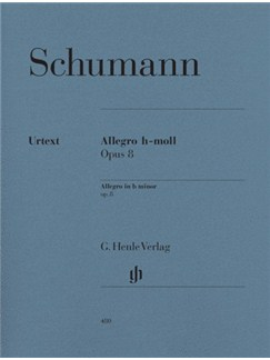 Robert Schumann: Allegro In B Minor Op.8 Books | Piano