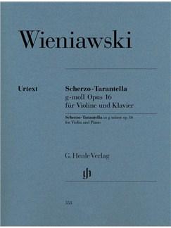 Henryk Wieniawski: Scherzo-Tarantella G Minor Op. 16 Books | Violin, Piano