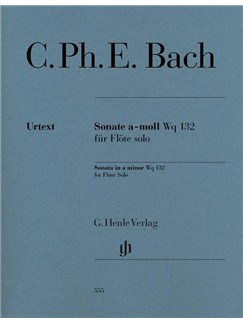 Carl Philipp Emanuel Bach: Flute Sonata A Minor Wq. 132 Books | Flute