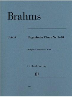 Johannes Brahms: Hungarian Dances Nos. 1-10 Books | Piano