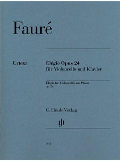 Gabriel Fauré: Élégie Op.24 For Violoncello And Piano Books | Cello, Piano Accompaniment