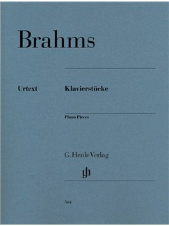 Johannes Brahms: Piano Pieces (Paperback) Books | Piano