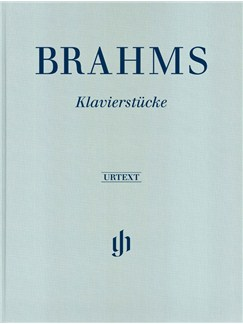 Johannes Brahms: Piano Pieces (Clothbound) Books | Piano