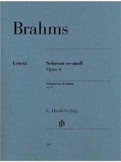 Johannes Brahms: Scherzo In E Flat Minor Op.4 Books | Piano