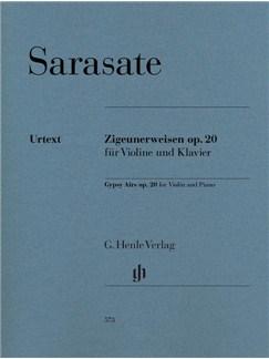 Pablo De Sarasate: Gypsy Airs Op. 20 For Violin And Piano Books | Violin, Piano