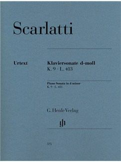 Domenico Scarlatti: Piano Sonata In D Minor K.9 L.413 (Urtext) Books | Piano