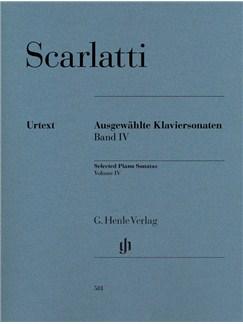 Domenico Scarlatti: Selected Piano Sonatas Volume IV Books | Piano