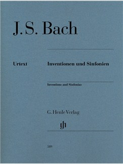 J.S. Bach: Inventions And Sinfonias Books | Piano
