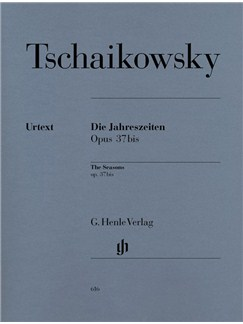 Pyotr Ilyich Tchaikovsky: The Seasons Op.37bis - Piano Solo (Henle Urtext) Books | Piano
