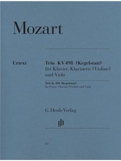 W.A. Mozart: Trio K.498 For Piano, Clarinet (Violin) and Viola Books | Piano Trio