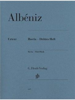 Isaac Albéniz: Iberia - Third Book Books | Piano