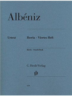 Isaac Albéniz: Iberia - Fourth Book Books | Piano