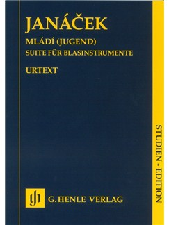 Leos Janácek: Mládí (Youth) - Suite For Wind Instruments (Study Score) Books | Wind Instruments