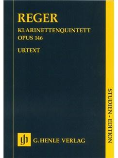 Max Reger: Clarinet Quintet In A Major Op.146 Books | Clarinet (Quintet)