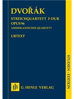 Antonín Dvorák: String Quartet F Op. 96 (American Quartet) Books | String Quartet