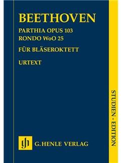 Ludwig Van Beethoven: Parthia Op. 103 - Rondo WoO 25 For Wind Octet Books | Wind Ensemble