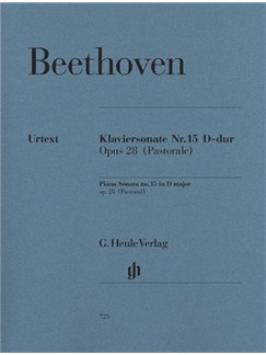 Beethoven: Piano Sonata No.15 In D Op.28 (Pastoral) Books | Piano