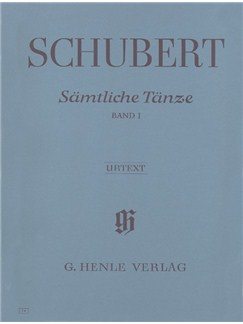 Franz Schubert: Samtliche Tanze Band I (Urtext) Books | Piano