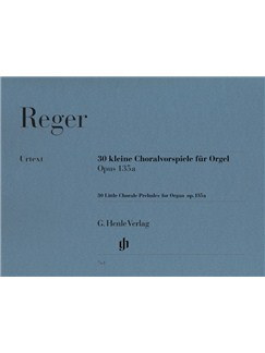 Max Reger: Thirty Little Chorale Preludes For Organ Op.135a Books | Organ