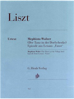 Franz Liszt: Mephisto Waltz (The Dance at the Village Inn). Episode from Lenau's 'Faust' Books | Piano