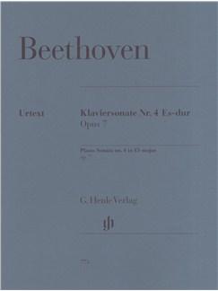 Ludwig Van Beethoven: Piano Sonata No.4 In Eb Major Op.7 (Henle Urtext) Books | Piano