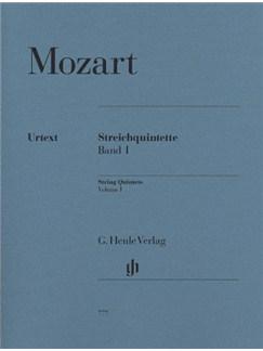 W.A. Mozart: String Quintets - Volume 1 (Henle Urtext Edition) Books | String Quintet