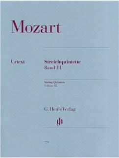 W.A. Mozart: Streichquintette Band III - Urtext (Score/Parts) Books |