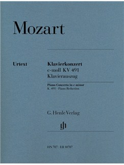 Wolfgang Amadeus Mozart: Piano Concerto In C Minor K. 491 Books | Two Pianos