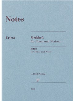 Henle Manuscript Notebook: Small A6 - 32 pages  |